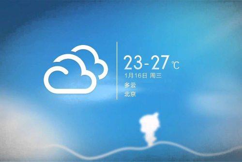 Xiaomi: come scaricare i nuovi Super Wallpaper Meteo della MIUI 12