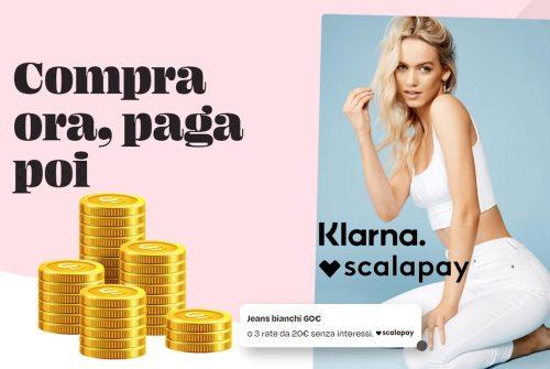 Scalapay & Klarna: pagamenti a rate online affidabili e a tasso zero