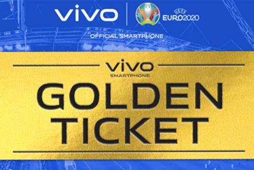 Vivo Golden Ticket: ecco come vincere gli EURO2020