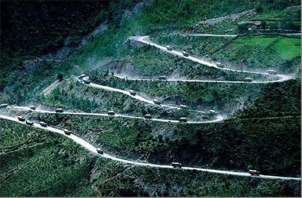 Jalan Raya Sichuan – Tibet di Cina
