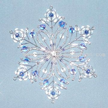 Assorted Snowflake Hanging from China