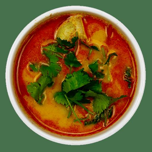Sur og stærk suppe