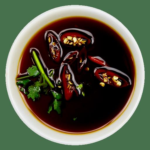 Chili, lime og soja sauce