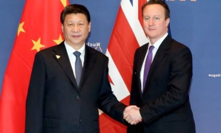 Londres tente tout pour s'allier à Beijing