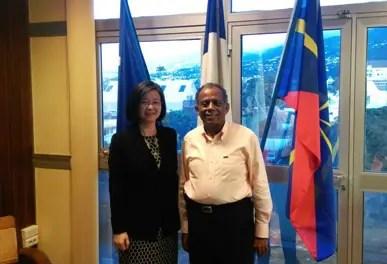 Guo Wei, troisième consul de Chine à La Réunion