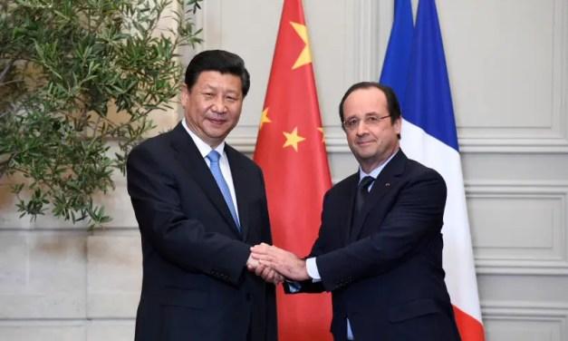 50 accords ont été signé entre Beijing et Paris