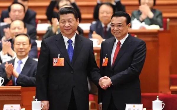 Un duo choc nommé à la tête de la Chine