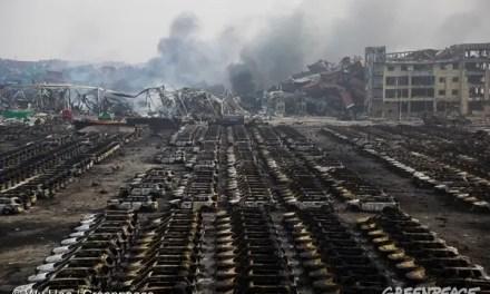 Explosion à Tianjin : incarcération de 49 personnes
