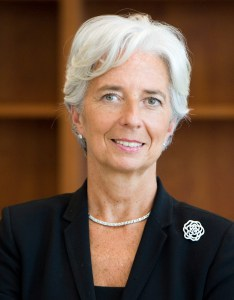 Directrice du FMI, Christine Lagarde