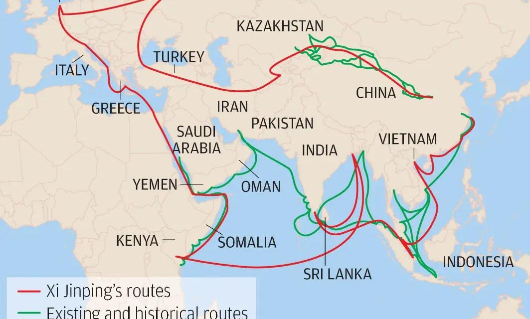 La Chine a investit 109 milliards d'euros d'investissements pour la «Nouvelle route de la soie»