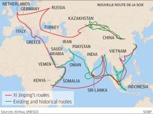 Nouvelle route de la soie
