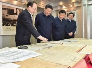 xi jinping énonce les nouvelles directives dans les médias, ici au Quotidien du peuple