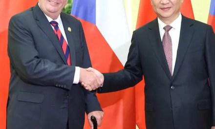 Prague, passerelle de la Chine entre l'Europe de l'est et de l'ouest