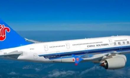 Un vol direct entre le centre de la Chine à l'Afrique