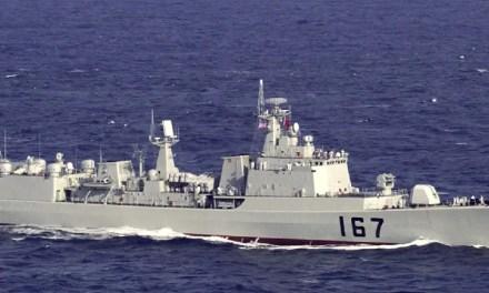 Un destroyer chinois aurait visé un avion de patrouille américain avec un laser