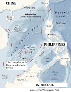 Mer de Chine méridionale 9 points