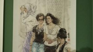 Jeunes femmes, habitantes du Xinjiang