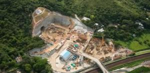Tunnel sous marin construit par Bouygues Construction