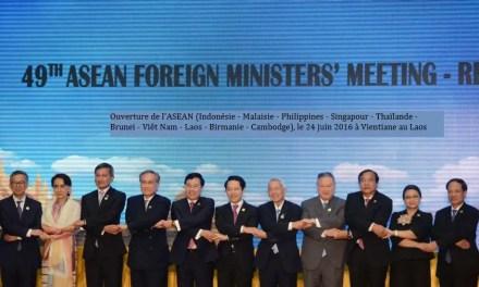 La Chine attend son accord de libre échange régional avec l'ASEAN