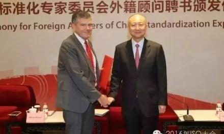 Olivier Peyrat est nommé conseiller du gouvernement chinois