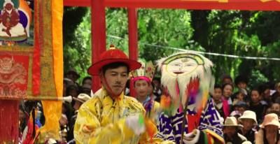 Opéra tibétain au Festival Shoton