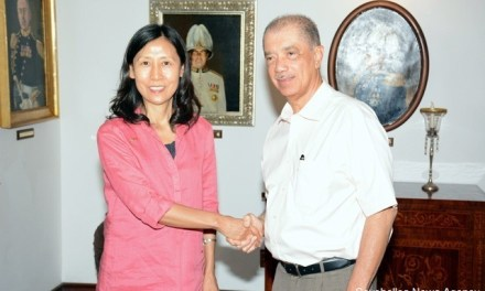 «Une relation très fructueuse» instaurée avec l'ex-ambassadrice