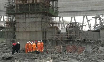 Explosion dans une centrale électrique