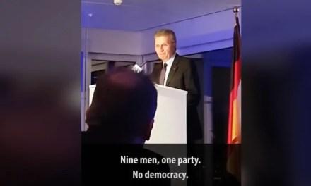 Günther Oettinger s'en prend à la Chine et aux chinois