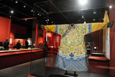 Robe traditionnelle de mariage de l'empereur Zaitian