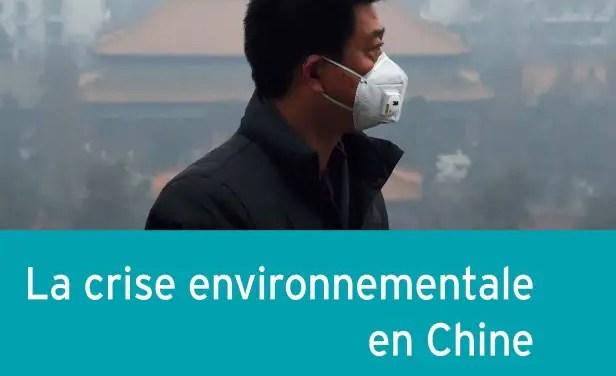 Rencontre-dédicace du livre «La crise environnementale en Chine»
