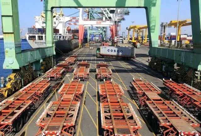 Bond des exportations électroniques à Taïwan