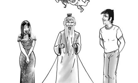 Le cupidon chinois de Véronique Michel