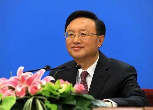 Yang Jiechi envoyé à Washington pour détendre les relations