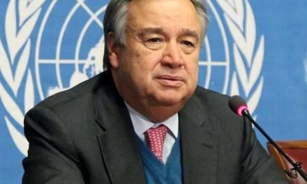 Antonio Guterres, «la Chine joue un rôle tout à fait central» dans le monde