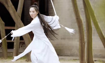 L'héritière Hua Yi, championne du monde de Kung-fu à Xuzhou