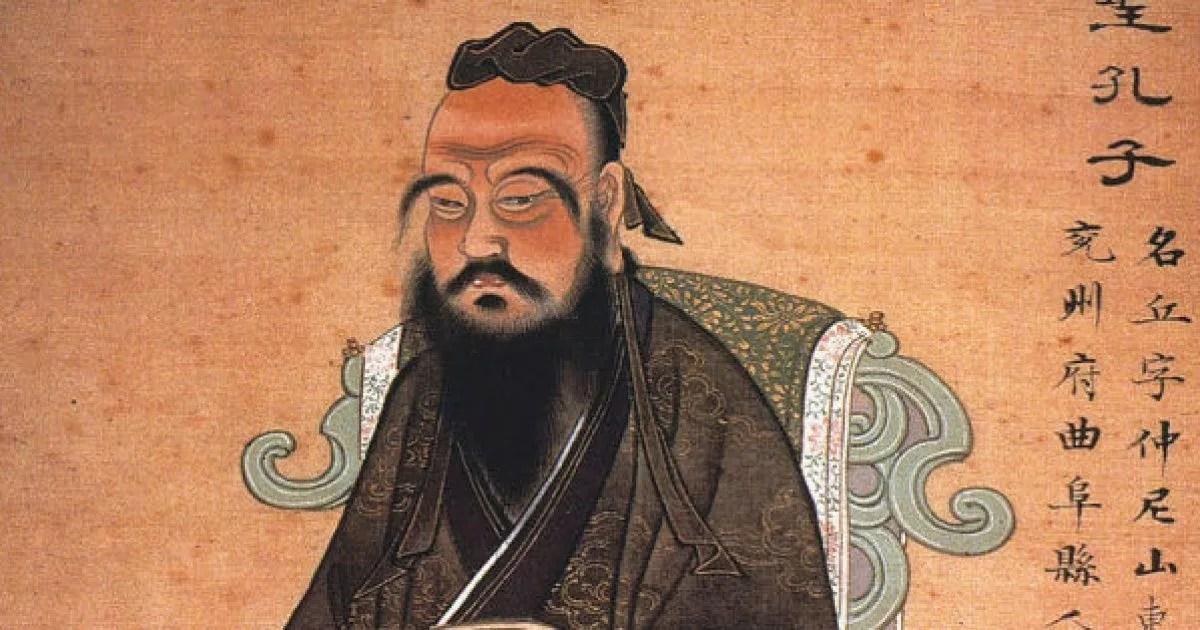 Découverte d'un portrait de Confucius dans le Jiangxi