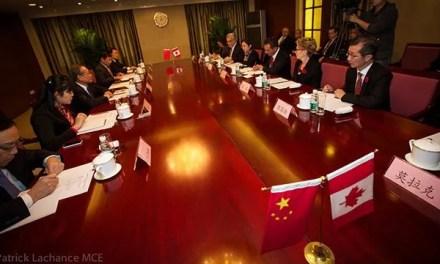 Le Premier ministre du Québec en Chine
