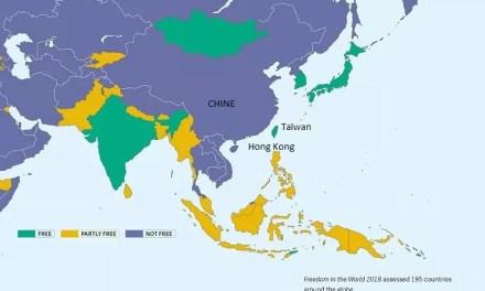 Taïwan considéré comme un territoire «libre» par Freedom House