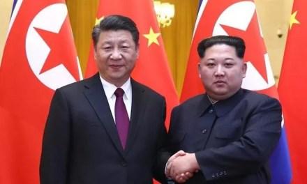 Kim Jong-un en Chine