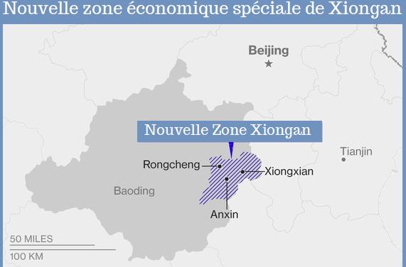 100% d'électricité propre dans la nouvelle zone Xiongan