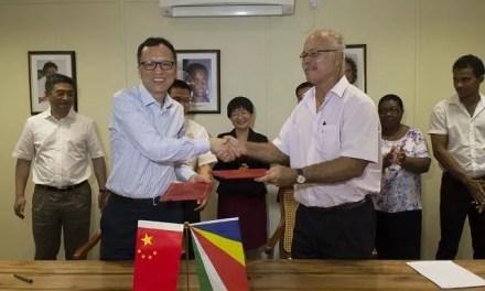 5ème accord de jumelage entre les Seychelles et la Chine
