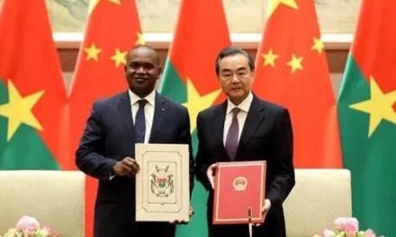 La Chine et le Burkina Faso signent leur alliance
