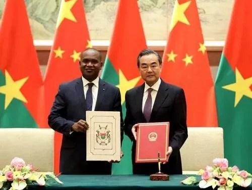L'opposition au Burkina Faso dénonce une «ingérence» de la Chine