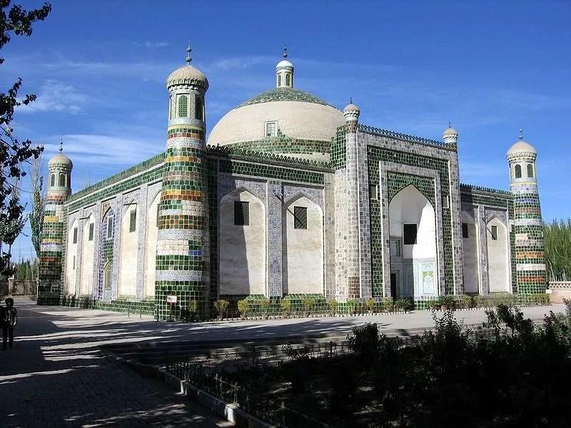 Pas de camp de détention de Ouïghours