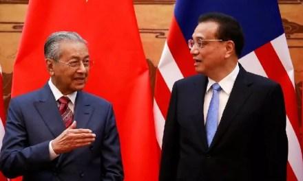 Mahathir Mohamad veut renégocier les contrats chinois