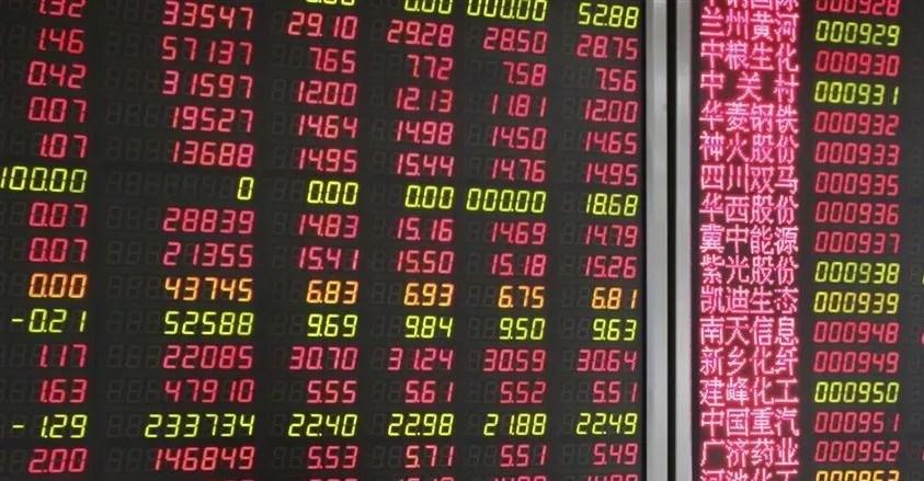 La Chine reléguée à la 3ème place des marchés boursiers