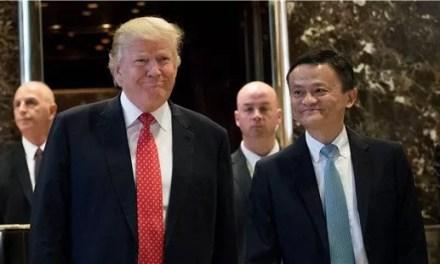 Jack Ma tourne le dos à Donald Trump