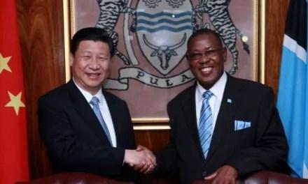 La Chine a accordé un prêt au Botswana