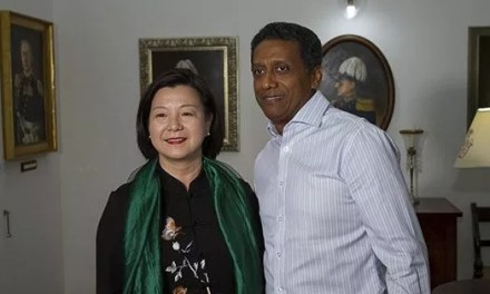 Economie, culture et éducation au menu de la nouvelle ambassadrice