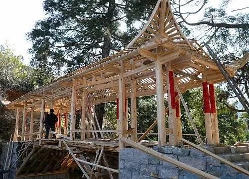 Les ponts de bois en arc, patrimoine mondial